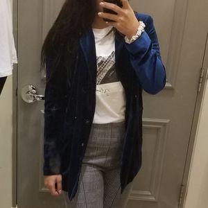 *2/$40*Blue Velvet blazer